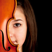 Young Musician with Viola