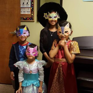 Masquerade Musicale at Charlotte Academy of Music Halloween Open House