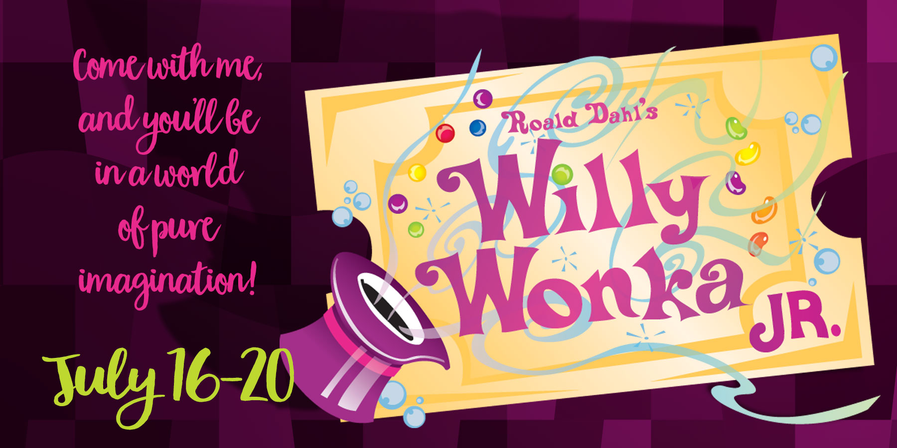 Willy Wonka Jr Theatre Camp